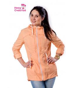 Слингокуртка Парка летняя персик - одежда для беременных