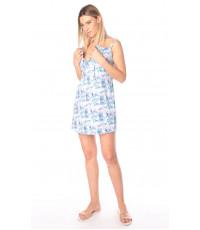 Сорочка для беременных и кормящих мам, сиреневый