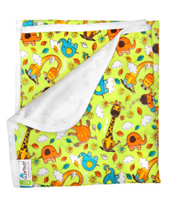 Непромокаемая пеленка GlorYes, жирафы