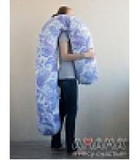 """Подушка для беременных """"Можно положиться 270см"""" голубые вензяля"""
