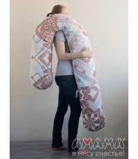 """Подушка для беременных """"Можно положиться 270см"""" пэчворк"""