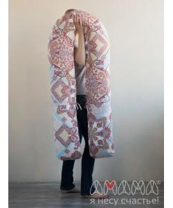"""Подушка для беременных """"Доброе расположение 300"""" восточные цветы"""