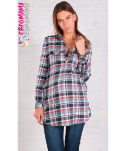 Туника-рубашка -одежда для беременных