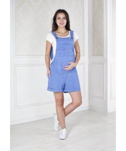 Голубой комбинезон для беременных на лето-Комбинезон для беременных