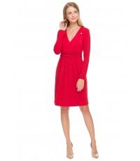 """Платье """"Жаннет"""" красное для беременных и кормящих"""