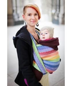 Слинг-шарф Ellevill Gaia Rainbow (хлопок)-слинг шарфы