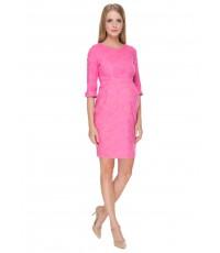 """Платье """"Акация"""" розовое для беременных и кормящих"""