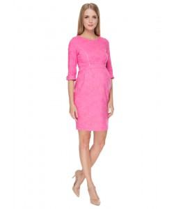 """Платье """"Акация"""" розовое для беременных и кормящих-одежда для будущих и кормящих мам"""