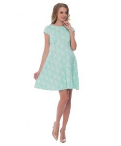 """Платье """"Флора"""" мятное для беременных и кормящих-одежда для будущих и кормящих мам"""