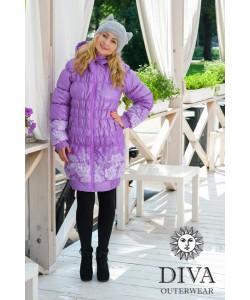 Слингокуртка зимняя Diva Outerwear Lavanda- одежда для беременных