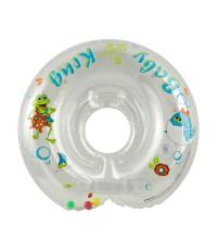 Круг на шею для купания малышей Baby-Krug, белый