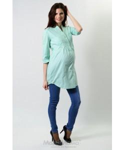 Рубашка мята-одежда для беременных