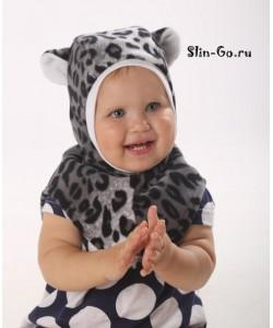 """Шлем флисовый """"Лео"""" - детская одежда"""