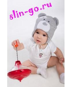 """Шапочка """"Мишка""""- детская одежда"""