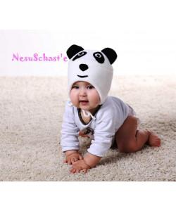 Шапка флисовая Панда - детская одежда
