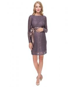 """Платье """"Марианна"""" кофейное для беременных  -одежда для будущих и кормящих мам"""
