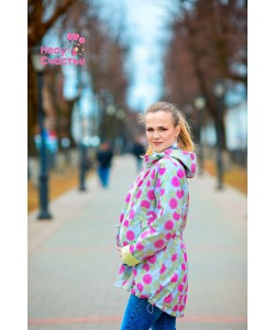 """Слинговетровка 3 в 1 """"Парка"""" фруктовый пломбир-одежда для беременных"""