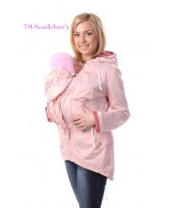 """Куртка """"Парка"""" розовая ЛЕТО - женская верхняя одежда"""