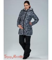 Куртка женская Куртка Ария черно-белая