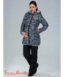 Куртка женская Куртка Ария черно-белая - женская верхняя одежда