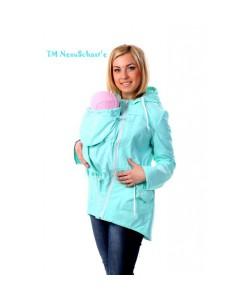 Слингокуртка-парка летняя «Ментол» - женская верхняя одежда