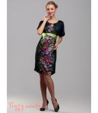 Платье для беременных в цветах