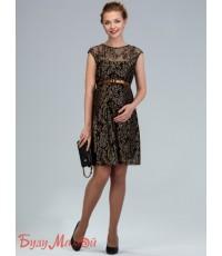 Платье для беременных золото