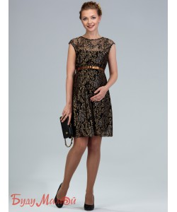 Платье для беременных золото-одежда для будущих и кормящих мам