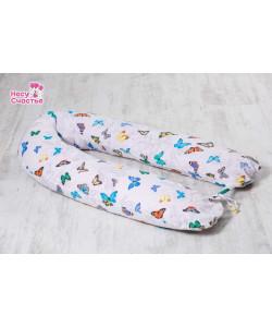 """Подушка """"Бабочки"""" для беременных и кормящих мам -  Подушки для беременных, бандажи"""