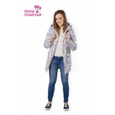 Куртка Парка модные зайцы для беременных и слингоношения