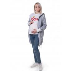 Слингокофта Леона серая 3 в 1 (для беременных)