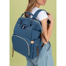 """Сумка-рюкзак для мам """"Mummy bag"""" ; деним"""