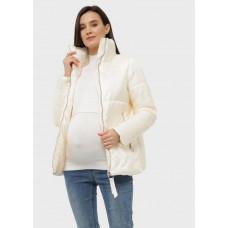 """Куртка демис. 2в1 """"Брайтон"""" для беременных; молочный"""