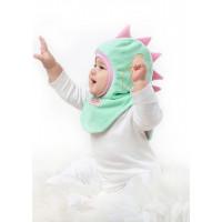 Шлем Дракоша мятно-розовый