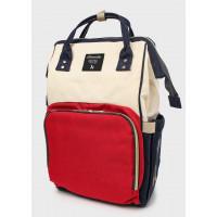 Рюкзак для мам с USB портом, мультиколор