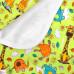 Непромокаемая пеленка GlorYes, жирафы 80х68 см