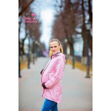 """Слинговетровка 3 в 1 """"Парка"""" розовая"""