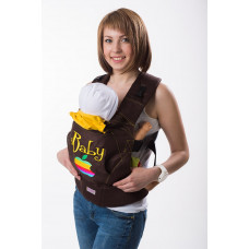 "Слинг рюкзак ""iBaby"" коричневый"