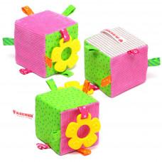 ЭКО Кубик с прорезывателем