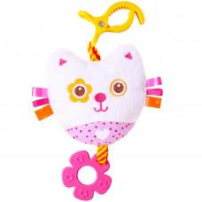Хрустящая подвеска - Котёнок с прорезывателем