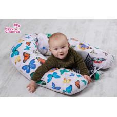 """Подушка """"Бабочки"""" для беременных и кормящих мам"""